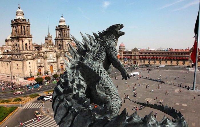 Godzilla afecta a comerciantes del centro