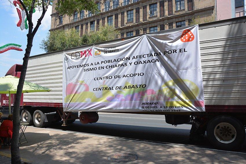 CEDA contribuye con 24 toneladas de viveres para damnificados