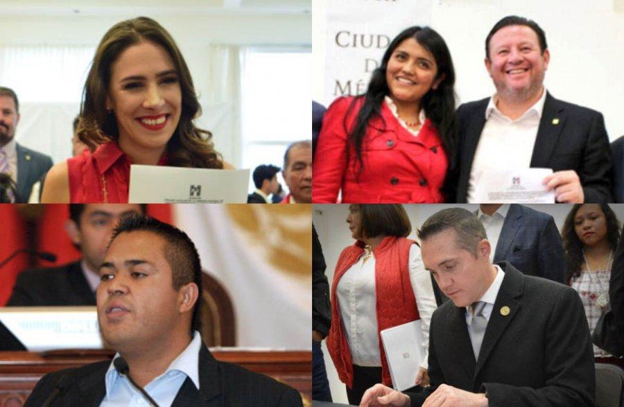 Ex dirigentes y asambleistas del PRI van por alcaldias