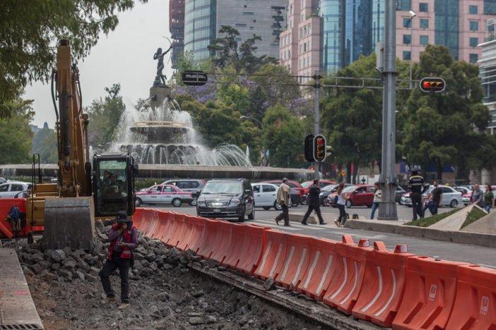 INAH autorizo renovar pavimento para Linea 7