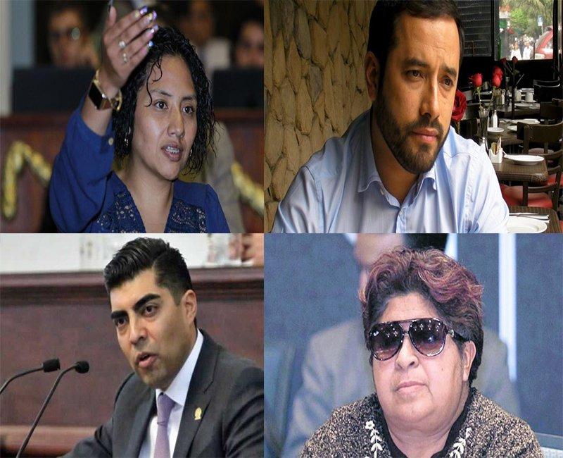 Romo, Olivares, Candelaria y Meza, balanza en ALDF