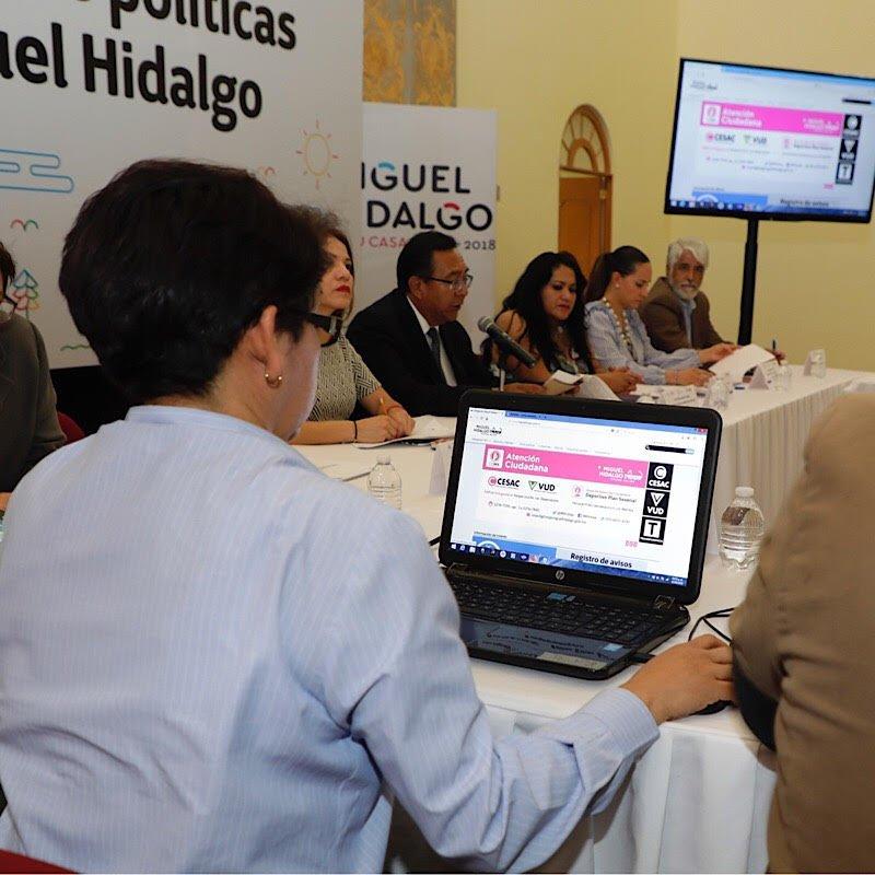 Presenta MH plataforma para avisos de eventos electorales