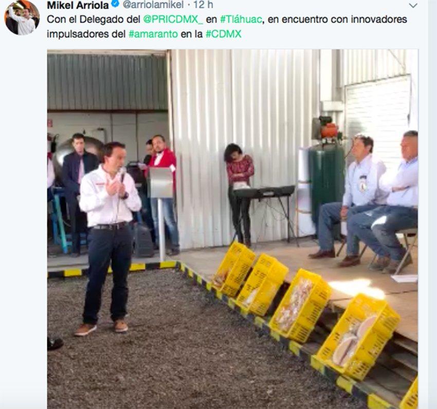 Crecimientos irregulares ganan terreno al campo: Mikel Arriola