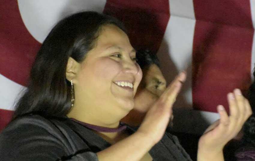 Citlalli Hernandez, la mujer mas joven en aspirar al Senado de la Republica