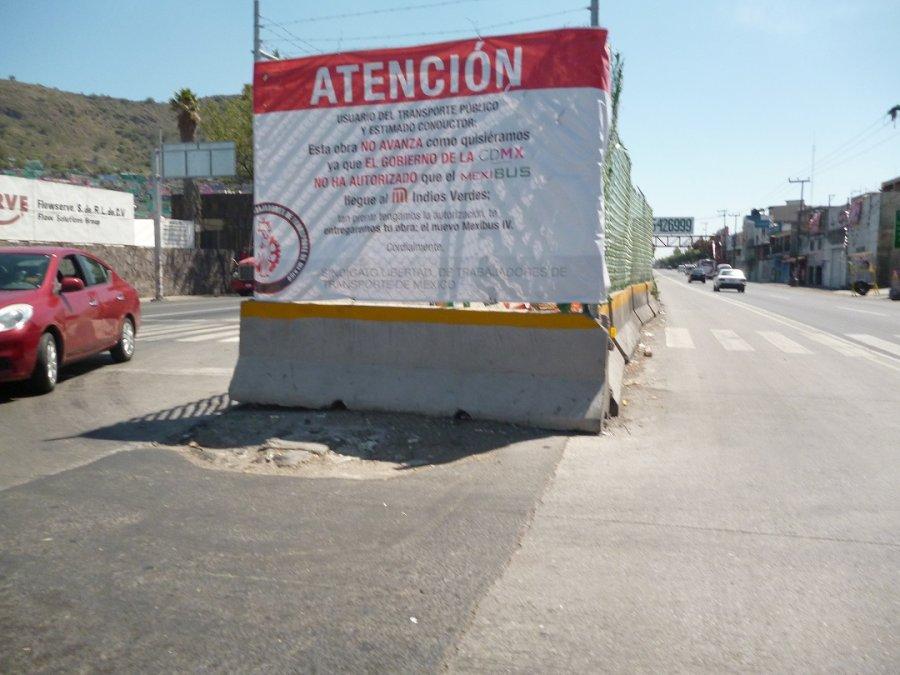 Acusan a CDMX de frenar Mexibus