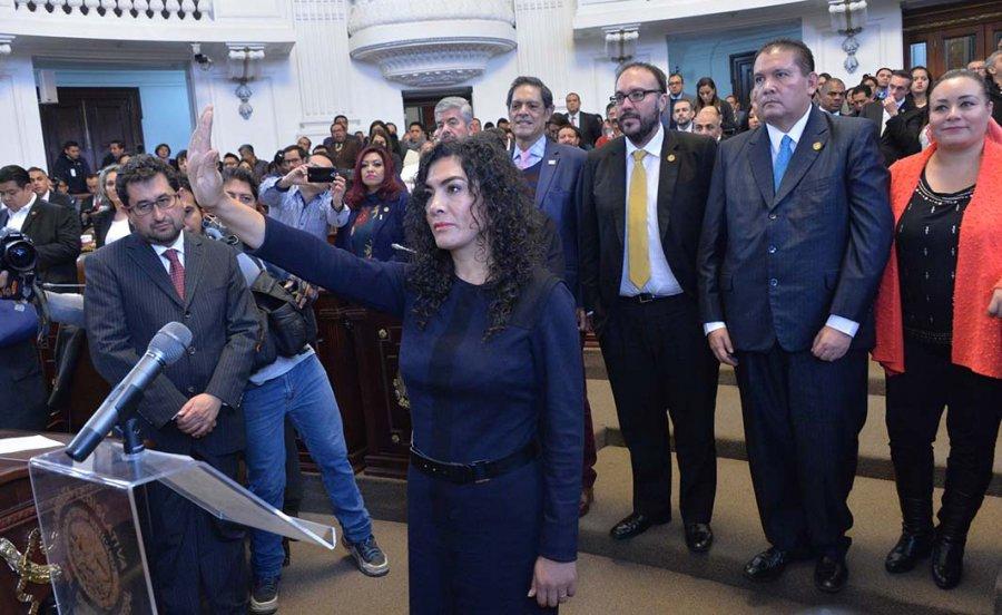 Monica Lopez nueva Jefa Delegacional en Venustiano Carranza
