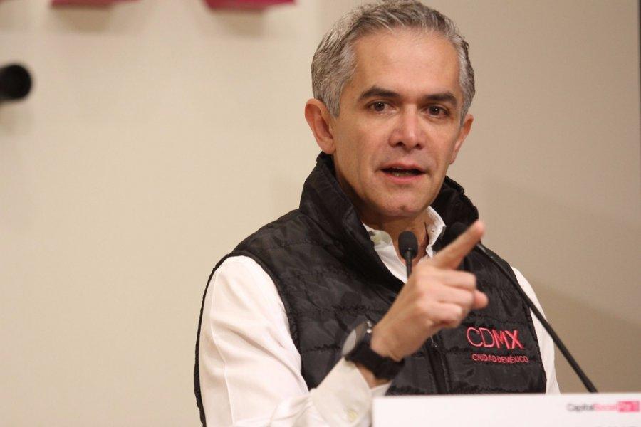 El Gobierno de la CDMX no pondra un solo peso para Planta de Termovalorizacion: Mancera