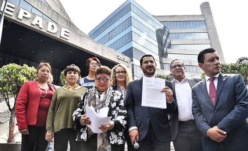 Morena denuncia ante la Fepade, desvio de 108 millones con fines electorales en Iztapalapa