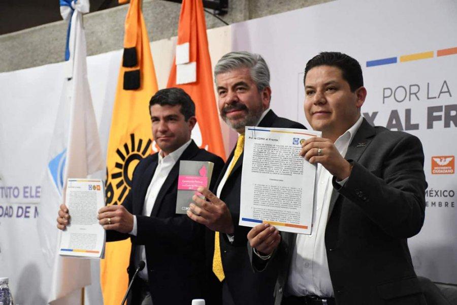 Tendra PRD preferencia para elegir candidatos del Frente a las alcaldias
