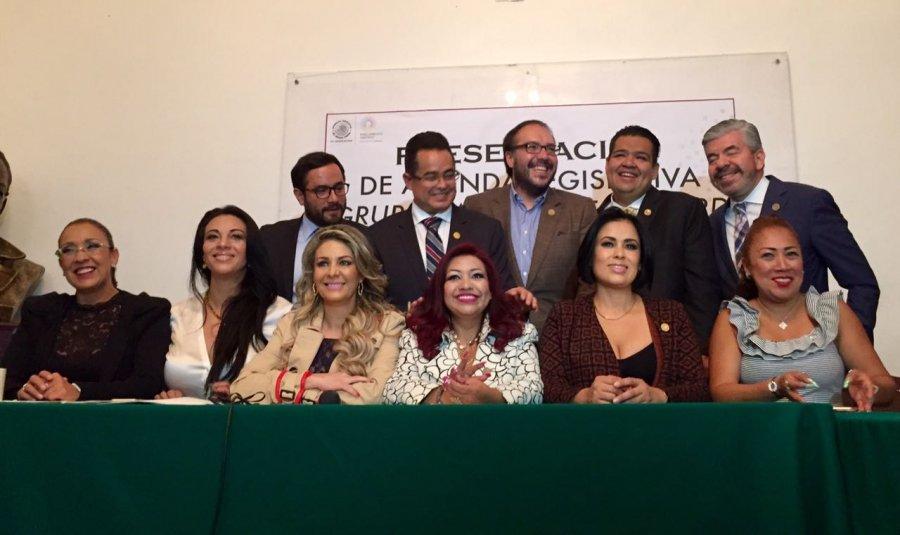 Mancera tiene nuestro apoyo para ser Presidente: diputados PRDCDMX