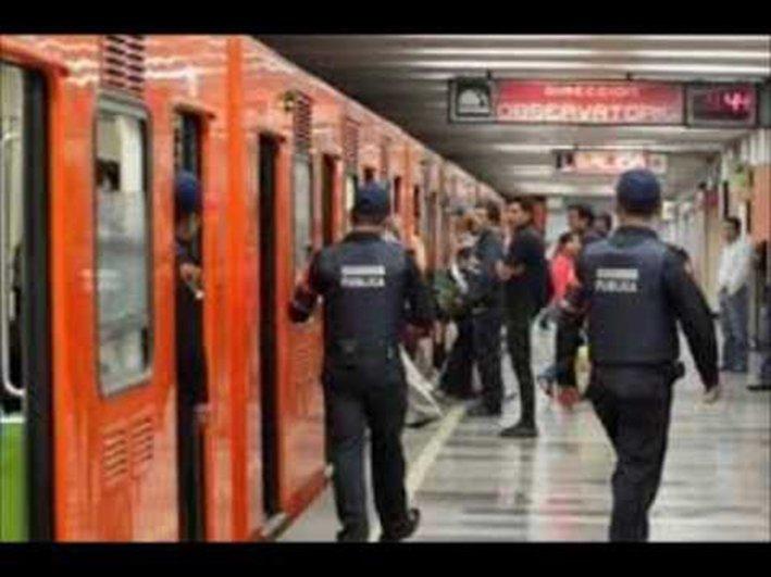 Incrementan robos en el Metro