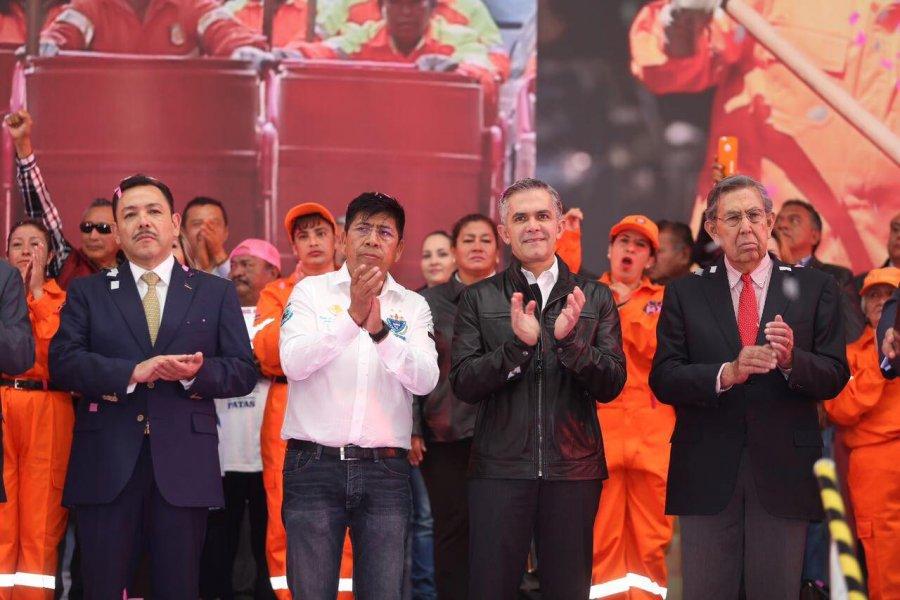 Llama Mancera a respaldar proyecto de nacion de Cardenas