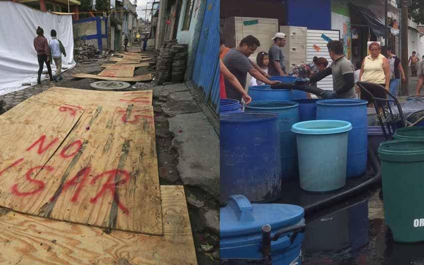 ALDF pide se atienda la emergencia en Iztapalapa