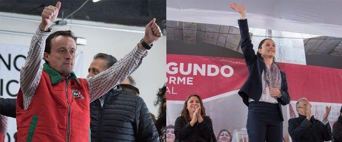 Morena y el PRI, la farsa de las precampanas en la Ciudad de Mexico