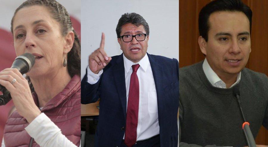 ¿Quienes sustituiran a Sheinbaum, Monreal y Maldonado?
