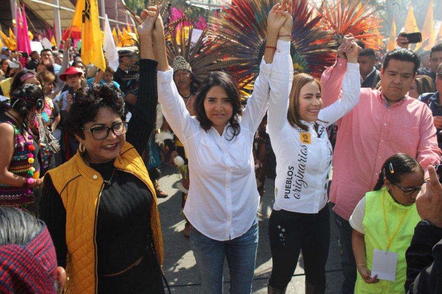 El duo Barrales-Quiroga se hace fuerte en Iztapalapa