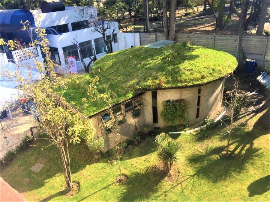 Presenta delegacion Tlalpan prototipo de casa sustentable
