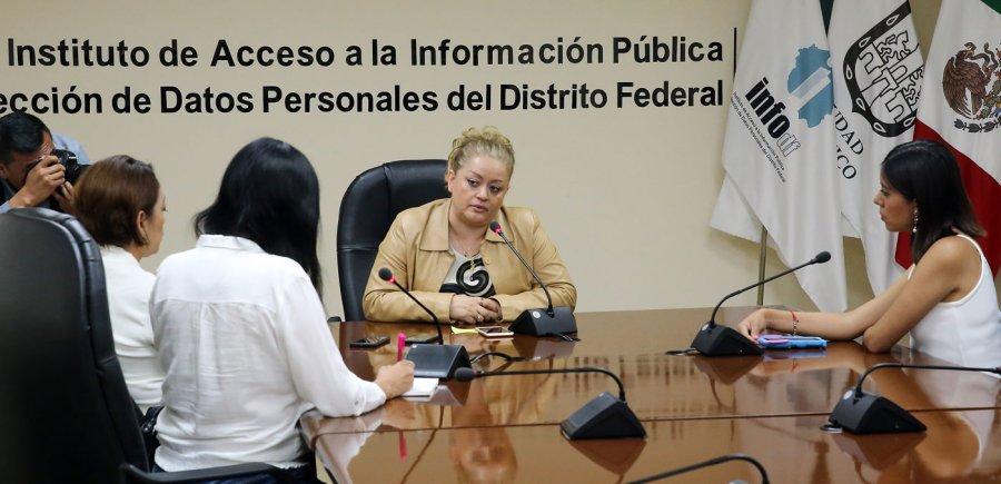 INFODF no sesiona por falta de comisionados