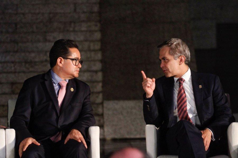 Apura Mancera a la ALDF para aprobar Ley de Reconstruccion