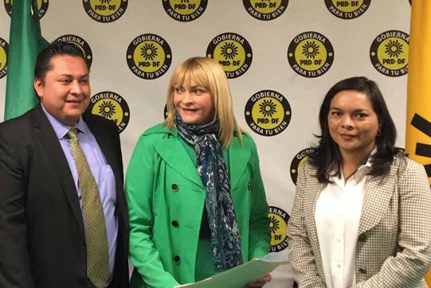 Rocio Banquells se registra como precandidata del PRD