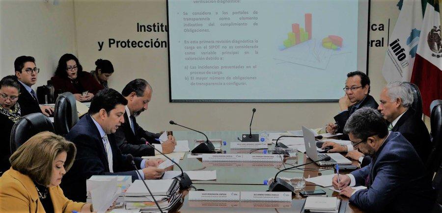 Reprueban seis delegaciones en Transparencia