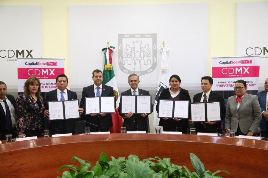 Repatriados recibiran asistencia social y juridica en CDMX