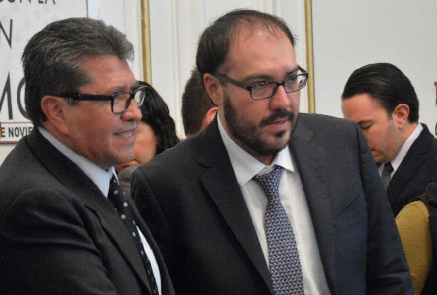 Monreal es bienvenido al PRD: Mauricio Toledo