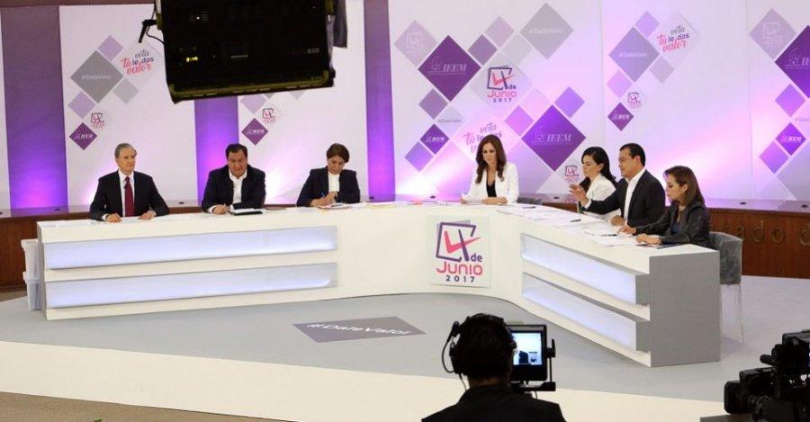 Mucho ataque, pocas propuestas en #DebateEdomex