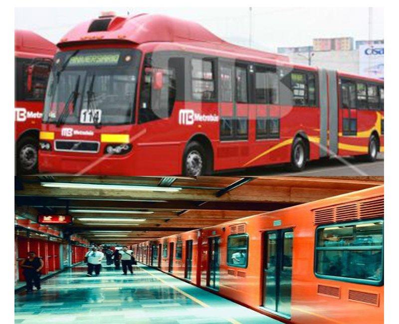Metro y Metrobus mantienen gratuidad
