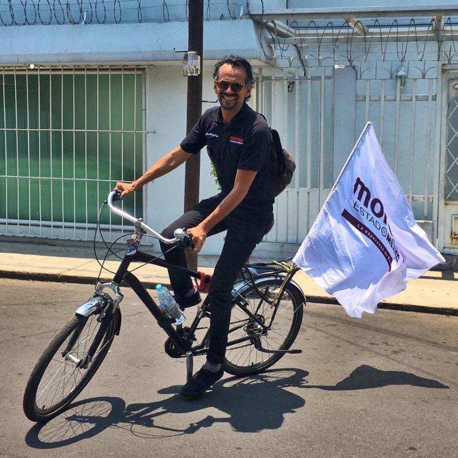 Javier Hidalgo, el ciclista que suena ser alcalde