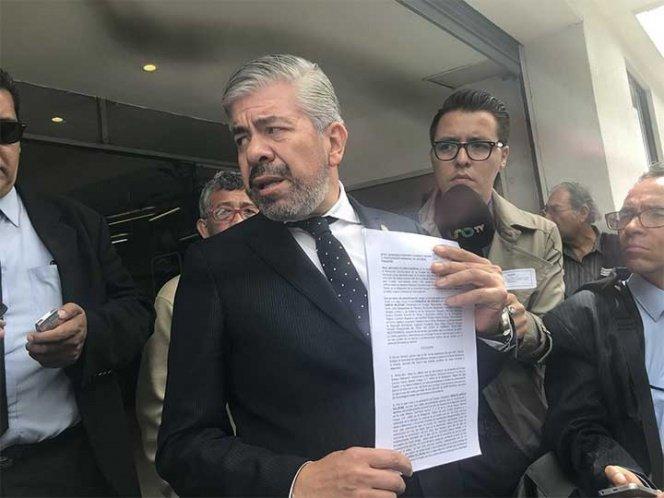 Denuncia PRD a Sheinbaum ante la Procuraduria