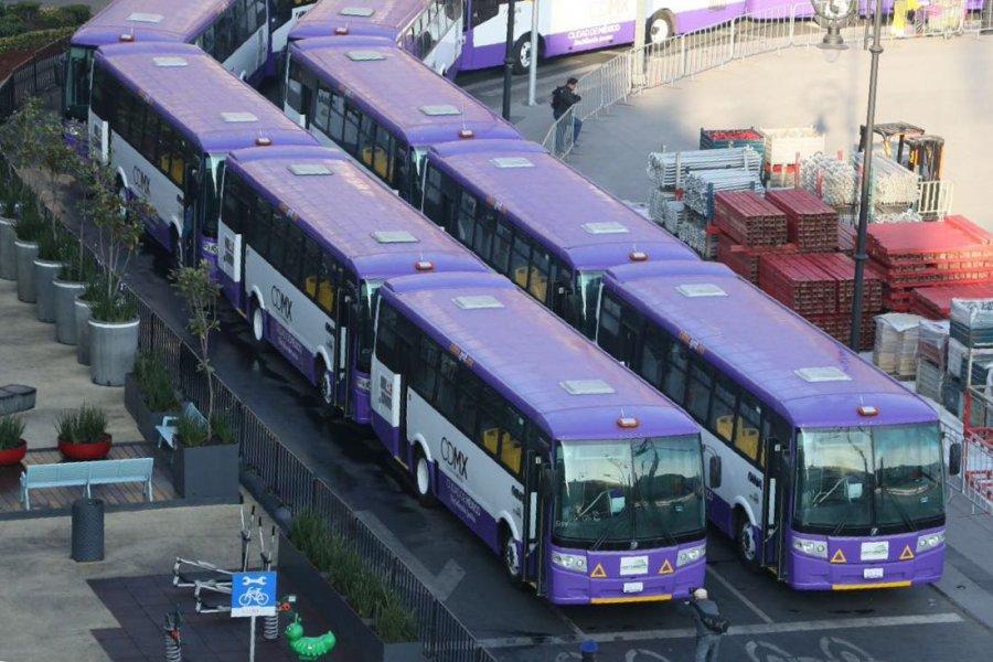 Sustituyen microbuses obsoletos en Corredor Tlalpan