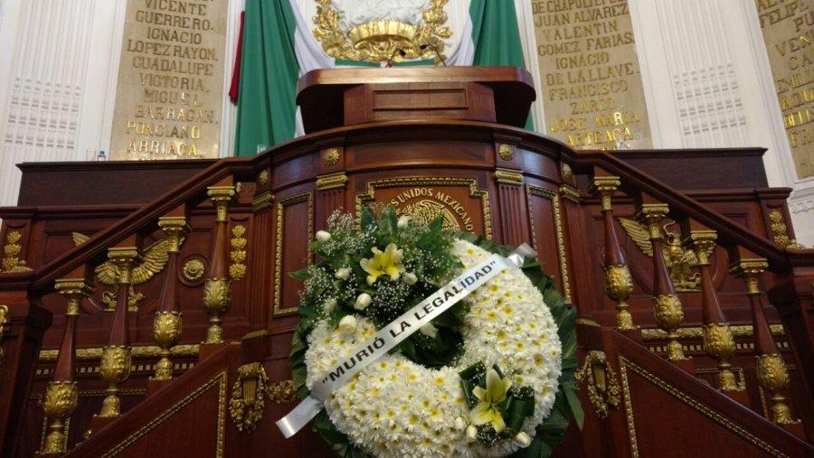 Desecha Tribunal amparo de Morena por conflicto en ALDF