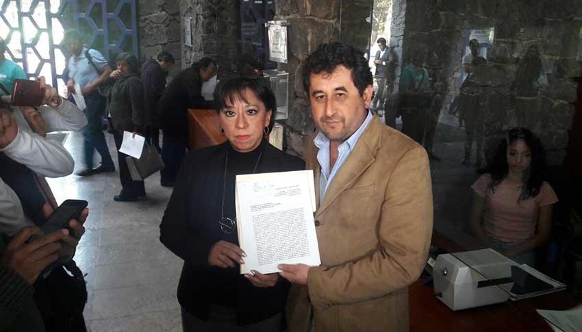 Morena presenta queja en Derechos Humanos por actos violentos en Coyoacan