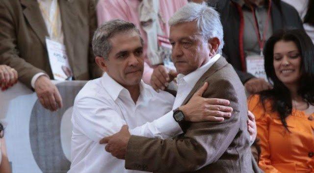 Aclara Mancera que no declinara a favor de AMLO