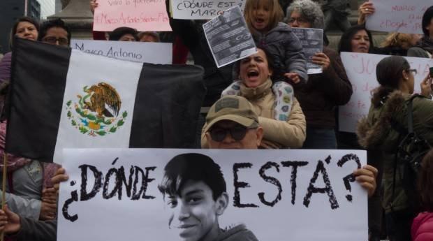 Crean defensores de derechos humanos circulo de proteccion para Marco Antonio Sanchez