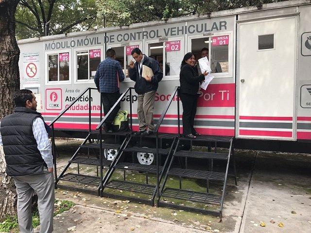 Gobiernos Instala Semovi 15 Módulos Móviles El Andén