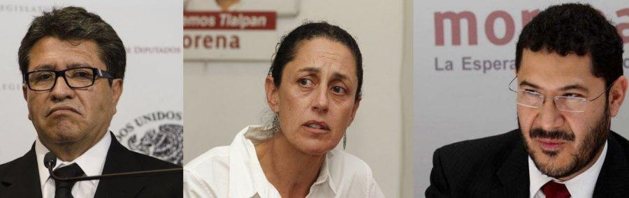 ¿Quien es quien de los aspirantes de Morena a la jefatura de gobierno?