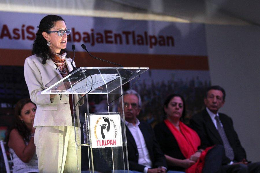 Afirma Sheinbaum que en Tlalpan se acabo la corrupcion