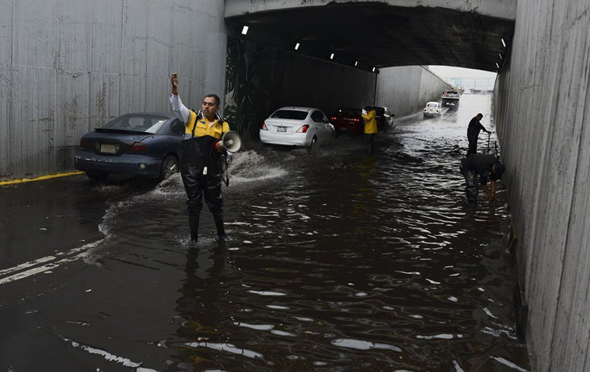 GAM e Iztapalapa vulnerables a inundaciones