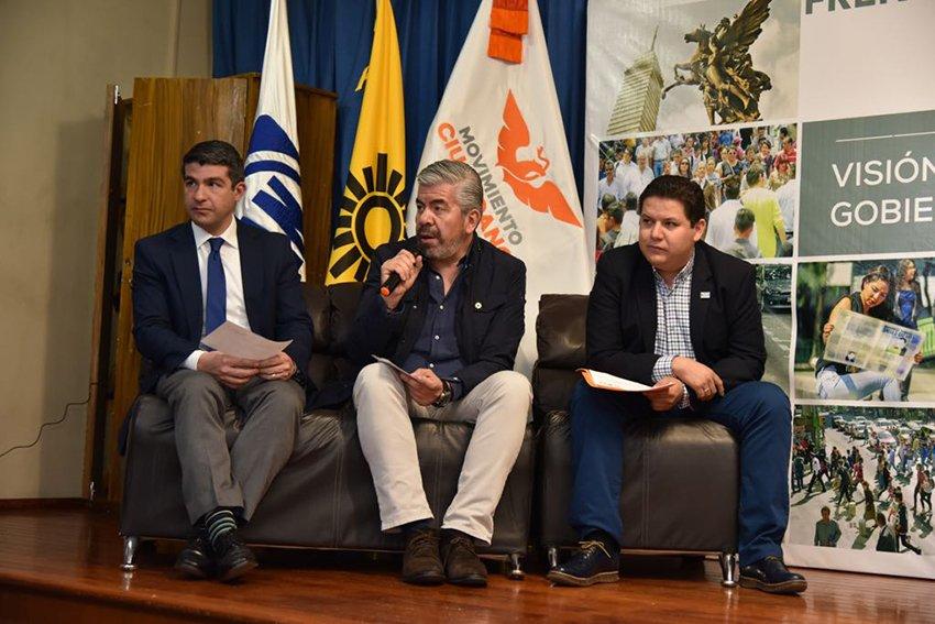Firme y sin fracturas, Frente Ciudadano en CDMX