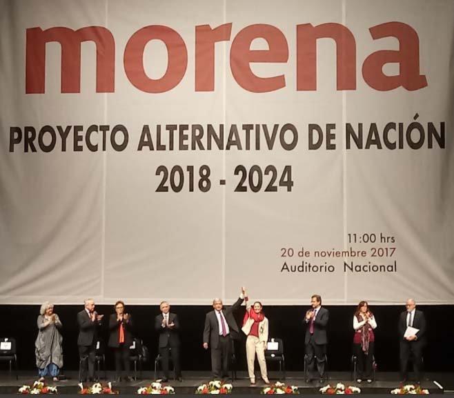 Proyecto de Morena es utopico y mesianico como AMLO
