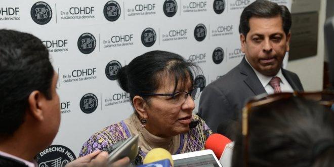 Los derechos humanos no pueden pasar por consulta publica: CDHDF