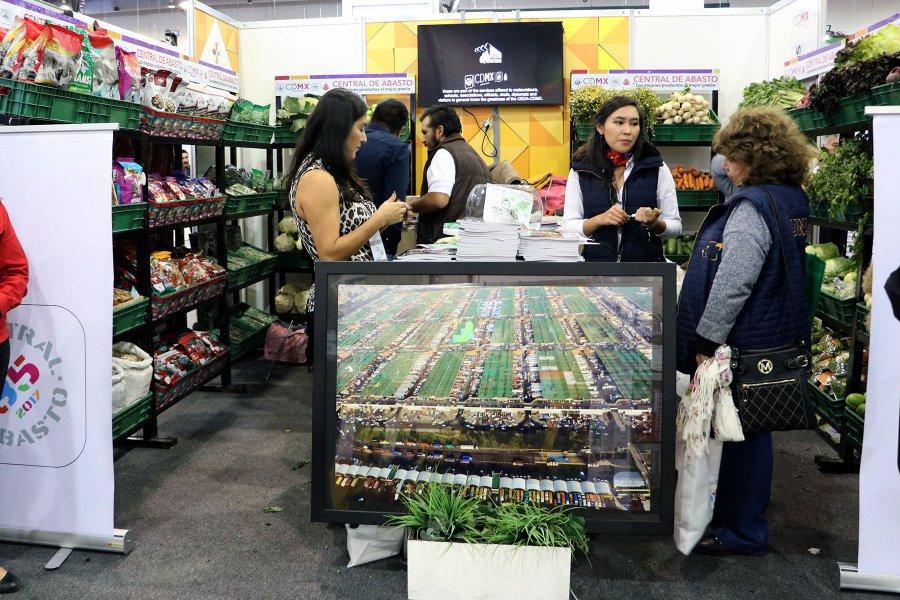 Central de Abasto sorprende en Expo Alimentaria